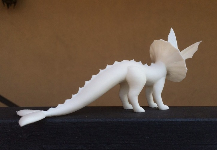 Vaporeon Pokemon Eevee evolution 3D Print 104662