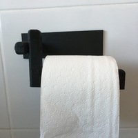 Small Toilet roll holder 3D Printing 104923