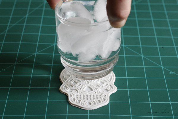 Medium Sugar Skull Coaster 3D Printing 104962