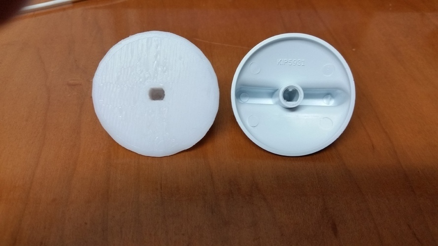 GE Profile Electric Cooktop knob 3D Print 104975