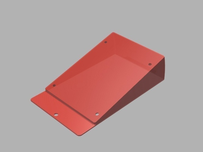 Cooler Master MasterCase 5 Angled SSD Mount - 15° 3D Print 105222