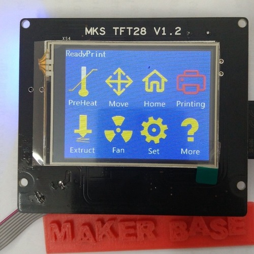 MKS-TFT Bezel for 20/20 Extrusion 3D Print 105244