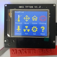 Small MKS-TFT Bezel for 20/20 Extrusion 3D Printing 105244