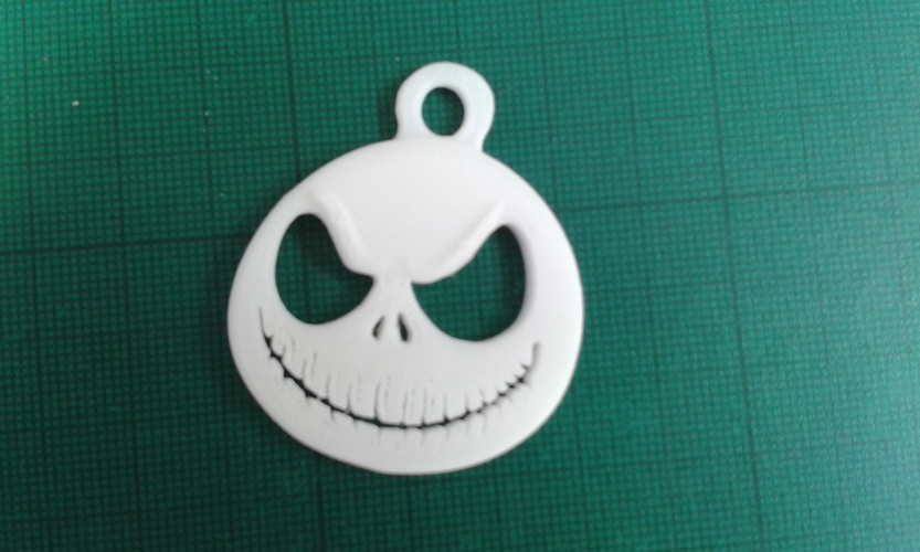 Jack Skellington key fob 3D Print 105347
