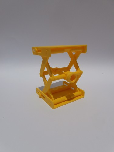 Platform Jack [Fully Assembled, No Supports] 3D Print 105351