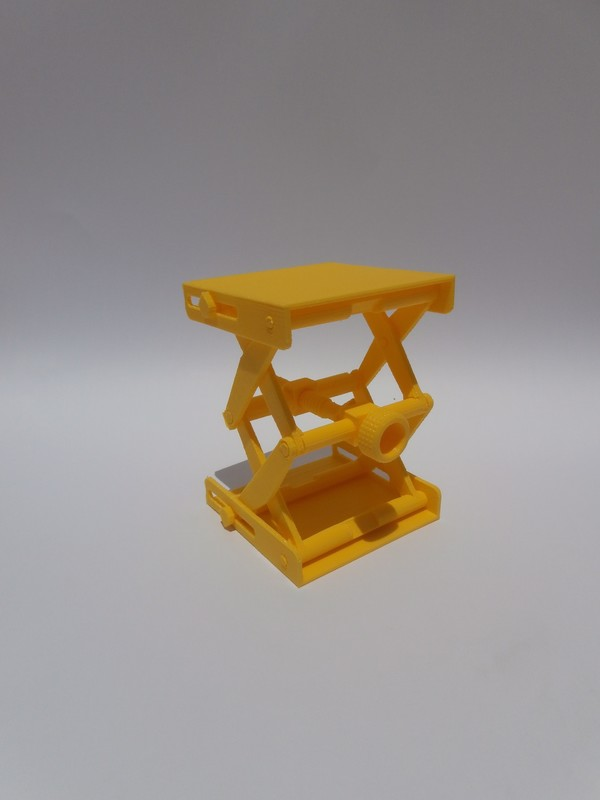Medium Platform Jack [Fully Assembled, No Supports] 3D Printing 105352