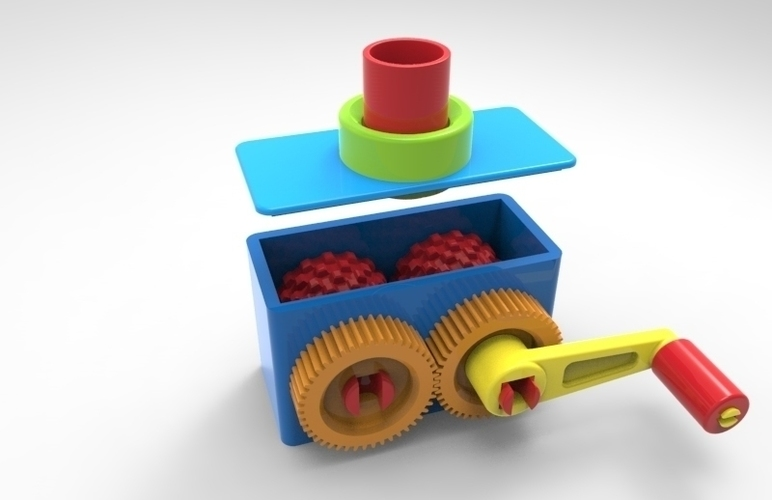 food crusher 3D Print 105407