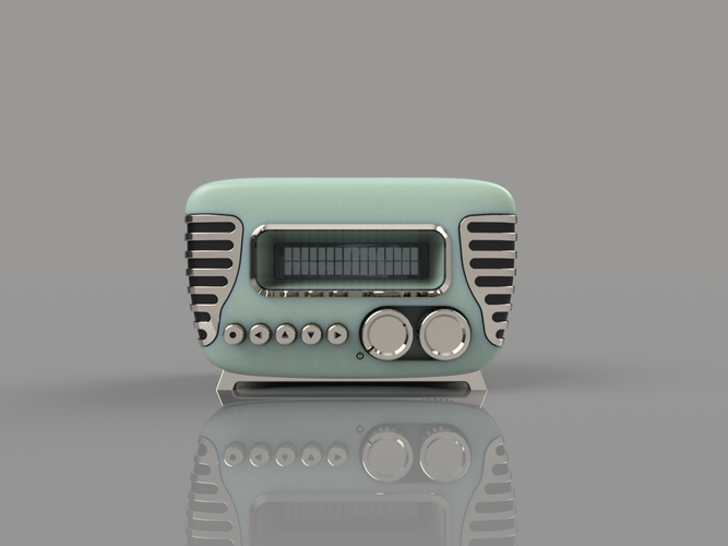 Mini Vintage Internet Radio 3D Print 105416