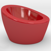 Small NEST Egg Cup 3D Printing 105421