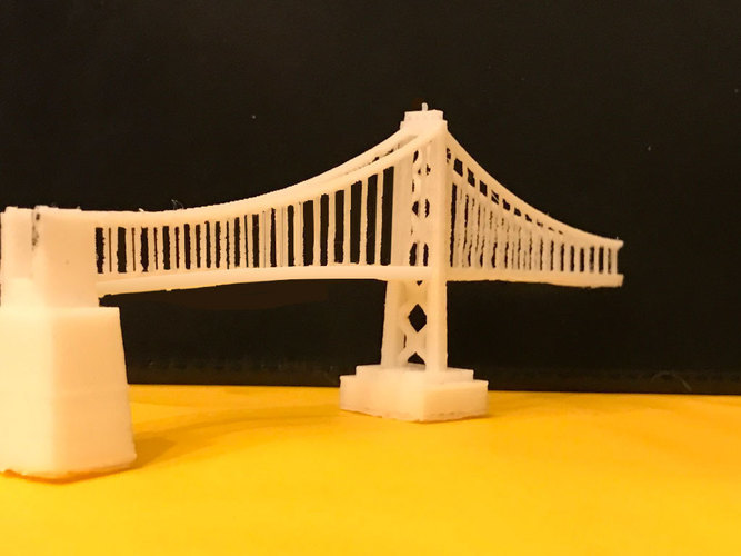 San Francisco Bay Bridge - Western Span 3D Print 105468