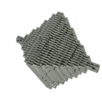 Small Step Pyramid Necklace  3D Printing 10552