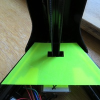 Small Dust protector (removable bed) for Micromake D1 (Delta / Kossel) 3D Printing 105671