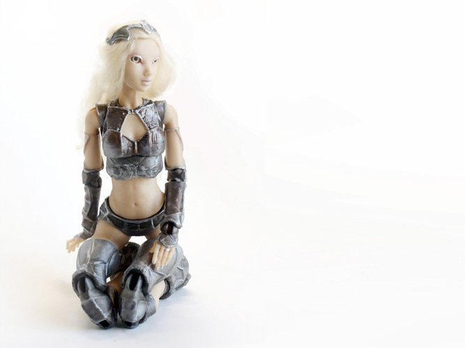 "Jointed Doll ""Lantea"" 3D Print 105683"