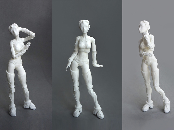 "Jointed Doll ""Lantea"" 3D Print 105685"