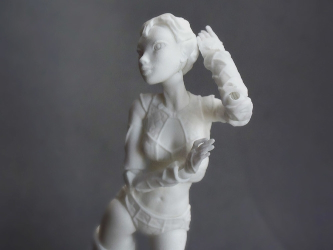 "Jointed Doll ""Lantea"" 3D Print 105687"