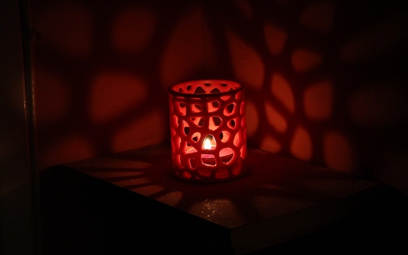Voronoi tealight candel holder 3D Print 10570