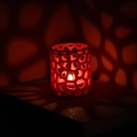 Small Voronoi tealight candel holder 3D Printing 10570