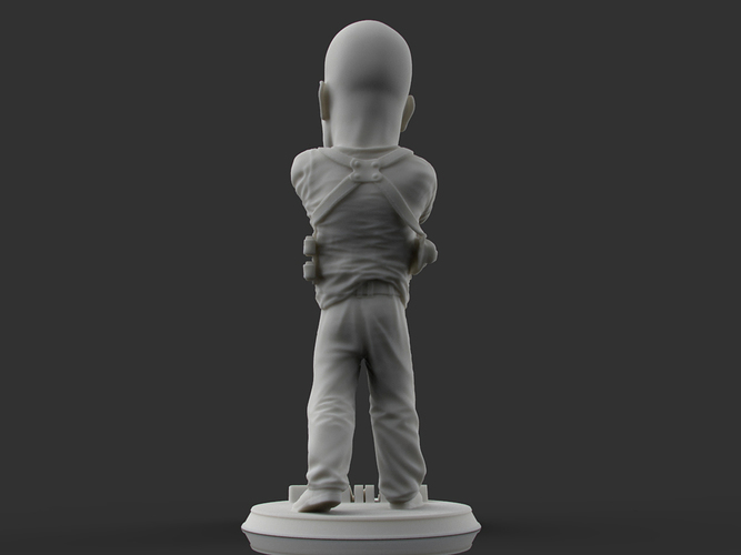 Bruce Willis DIE HARD 3D Print 105703