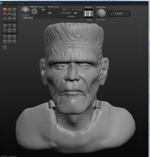 Medium Frankensteins Monster 3D Printing 105714