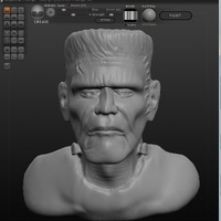 Small Frankensteins Monster 3D Printing 105714