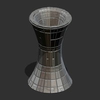 Small Sci Fi Vase 3D Printing 105720