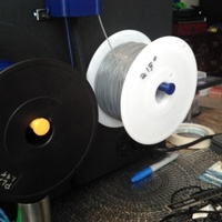 Small Spool Holder for QIDI TECH I 3D Printing 105736