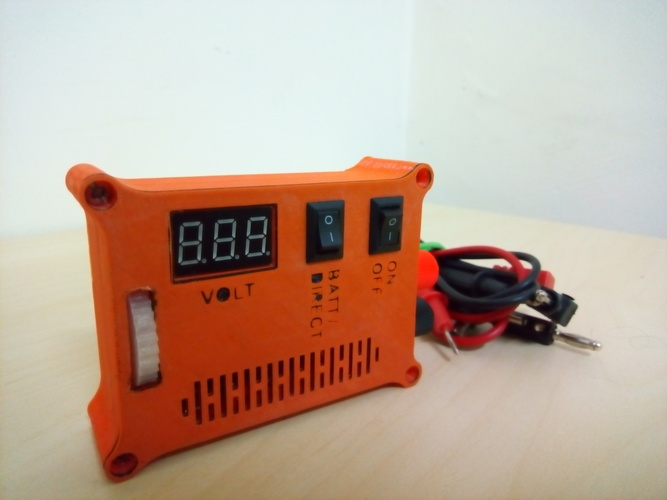 "The ""POCKET POWER"" - Variable power supply + voltmeter 3D Print 105760"
