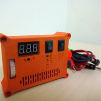 "Small The ""POCKET POWER"" - Variable power supply + voltmeter 3D Printing 105760"