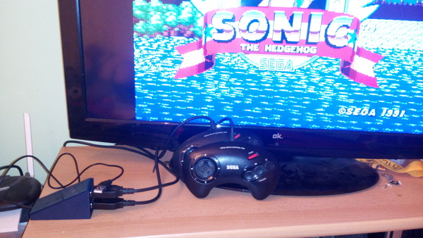 Medium Megadrive Controller2USB Adapter *Source included* 3D Printing 105868