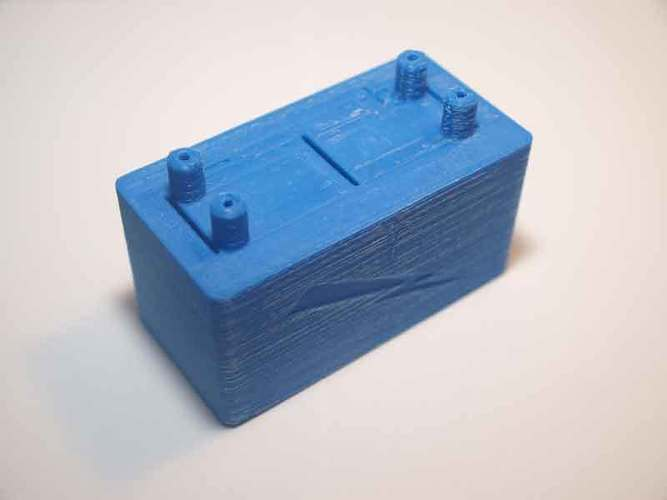 Microbial fuel cell (bio battery) 3D Print 105897
