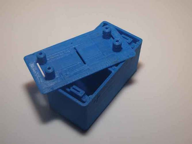 Microbial fuel cell (bio battery) 3D Print 105903