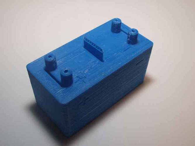 Microbial fuel cell (bio battery) 3D Print 105905