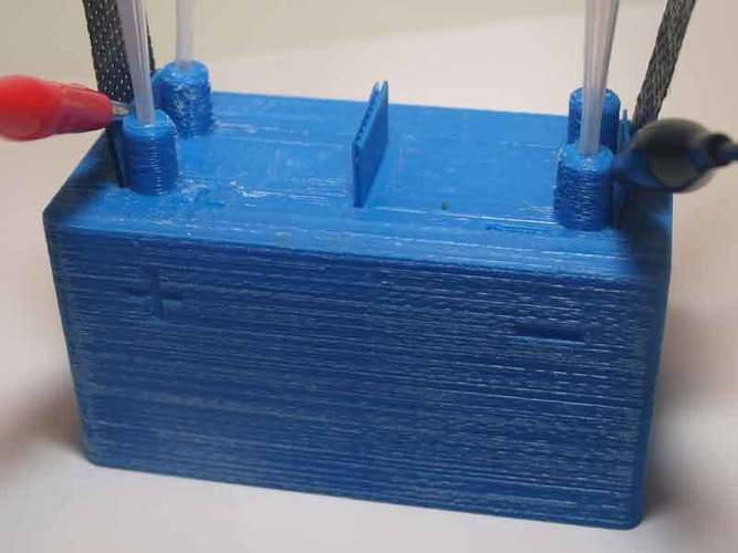 Microbial fuel cell (bio battery) 3D Print 105914