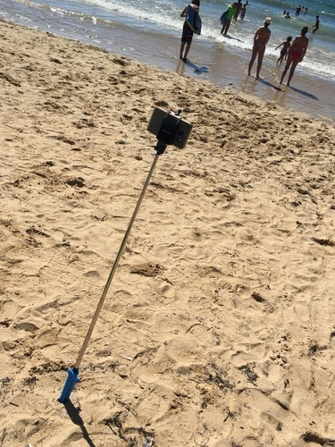 Selfie stick beach adapter! 3D Print 105932