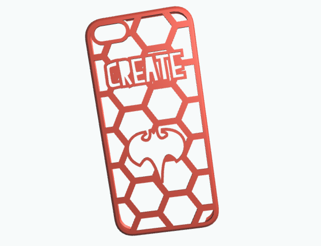 iPhone5 -Create your case 3D Print 10596