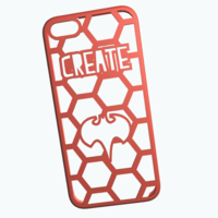 Small iPhone5 -Create your case 3D Printing 10596