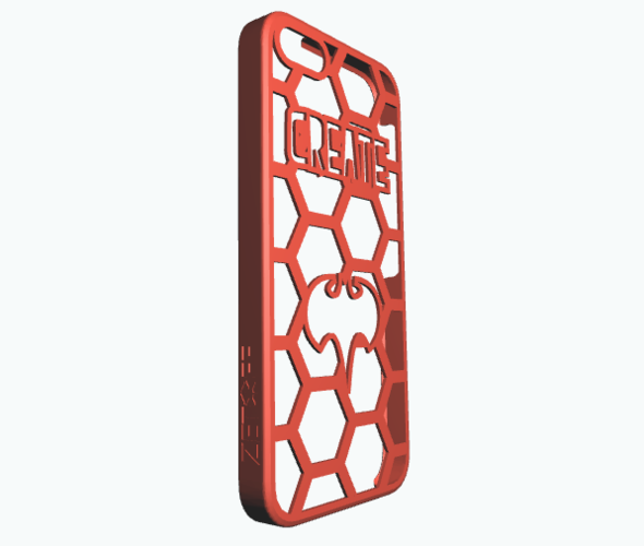 iPhone5 -Create your case 3D Print 10599