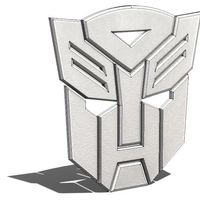 Small AUTOBOTS 3D Printing 106129