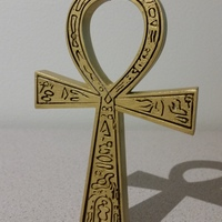 Small Ancient Egyptian Ankh 3D Printing 106229