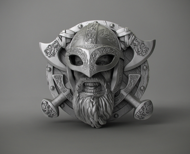 Ring Viking 3D Print 106233