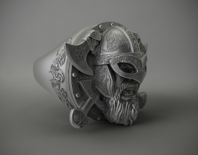 Ring Viking 3D Print 106235