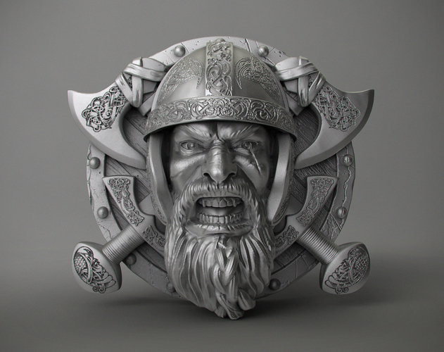 Ring Viking 3D Print 106238