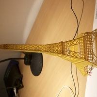Small Easy printable Eiffel Tower 3D Printing 106330