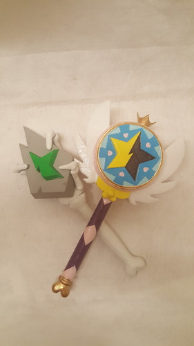 Star Vs. the Forces of Evil Magic Wands 3D Print 106356