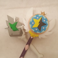 Small Star Vs. the Forces of Evil Magic Wands 3D Printing 106356