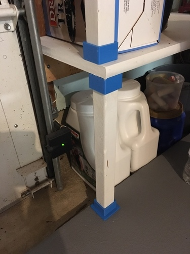 Shelf support bracket / brace 3D Print 106364