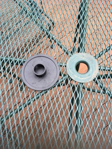 Outdoor table umbrella hole cover 3D Print 106459