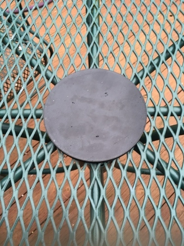 Outdoor table umbrella hole cover 3D Print 106460