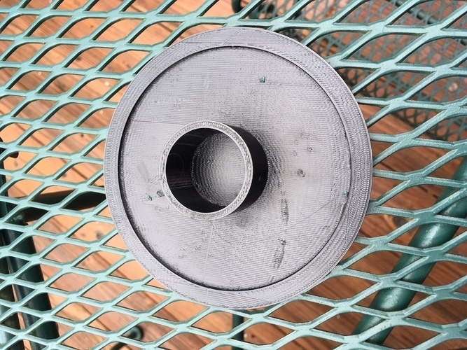 Outdoor table umbrella hole cover 3D Print 106461