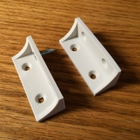 Small Shelf bracket / brace 3D Printing 106493